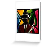 Player With Candy Dancers Greeting Card