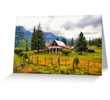 Life On The Mountain Greeting Card