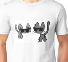 Two Cool Cats Take A Stroll Unisex T-Shirt
