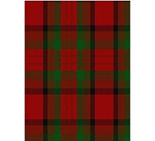 00356 Tipperary County District Tartan  Photographic Print