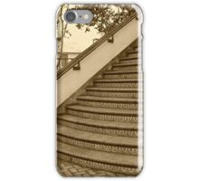 Sepia Staircase iPhone Case/Skin