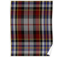 00355 Tipperary County, Crest Range Fashion Tartan  Poster