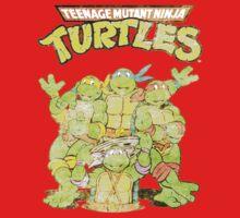 Retro Ninja Turtles Kids Clothes