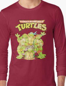 Retro Ninja Turtles Long Sleeve T-Shirt