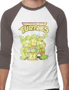 Retro Ninja Turtles Men's Baseball ¾ T-Shirt