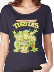 Retro Ninja Turtles Women's Relaxed Fit T-Shirt