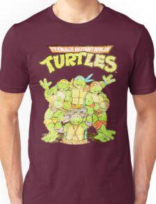 Retro Ninja Turtles Unisex T-Shirt