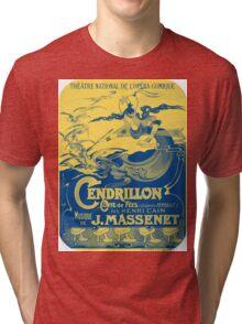 Vintage Cendrillon Poster Tri-blend T-Shirt