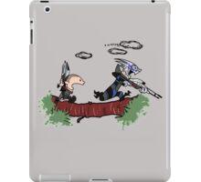 Mass Effect Calvin Hobbes iPad Case/Skin