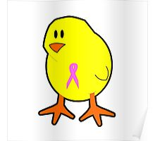 Chicks wear pink Poster