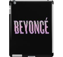 "3D ""Beyonce"" Album Cover Logo (Pink) iPad Case/Skin"