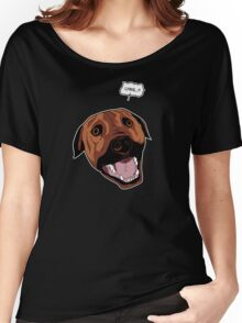 Lying Dog Women's Relaxed Fit T-Shirt