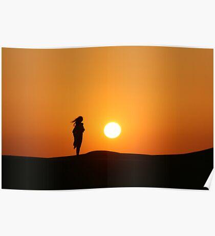 UAE Sunset Poster