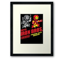 Super Daft Bros Framed Print