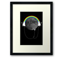 Dark Side of the Moon Parody #473827481 Framed Print