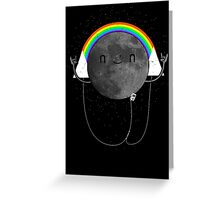 Dark Side of the Moon Parody #473827481 Greeting Card
