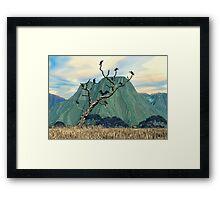 Vultures Roost Framed Print