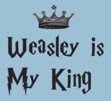 Weasley is my king One Piece - Short Sleeve