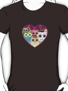 Love Owls 1 (white) T-Shirt