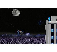 The Blue Bomber's City Photographic Print