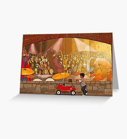 Rock~n~Roll Greeting Card