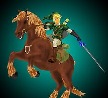 Link and Epona by PhillipLove