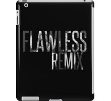 """Flawless Remix"" from Beyoncé - Platinum Edition (Black and White) iPad Case/Skin"