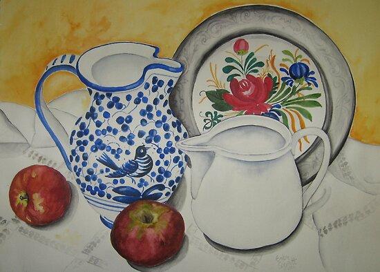 Mum's Kitchen by Gaby Schrott