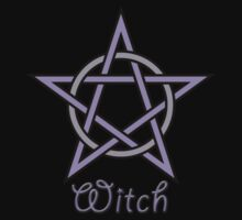 Witch Pentagram Pentacle Goddess Pagan Wiccan by DamaskMoonArt