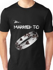 Married to DM (black) Unisex T-Shirt