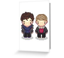 The Detective and the Doctor Greeting Card