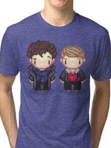 The Detective and the Doctor Tri-blend T-Shirt