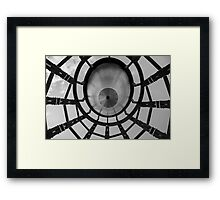What is up in the sky? Framed Print