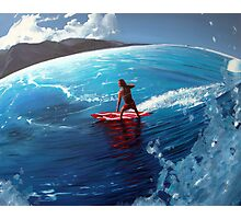surfer girl Photographic Print