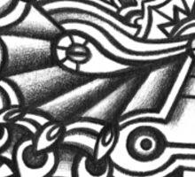 Abstract Design 045s1 Sticker