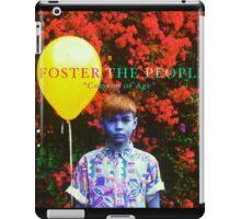 Foster The People iPad Case/Skin