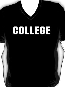 College Animal House retro  T-Shirt