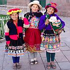 Happy Quechuan Girls  by Braedene