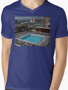 New Pool & Old Port, Marseille, France 2012 Mens V-Neck T-Shirt