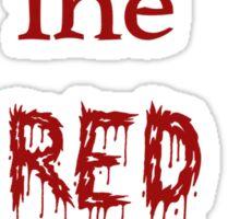 Red Adoption Sticker