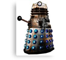 Destroyed Dalek Canvas Print