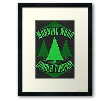 Morning Wood Framed Print