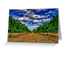 """Between The Vines"" Greeting Card"