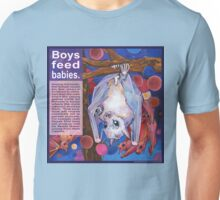 Father and child (Dayak fruit bat) Unisex T-Shirt
