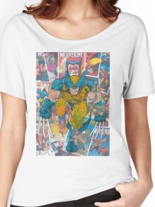 Vintage Comic Wolverine Women's Relaxed Fit T-Shirt