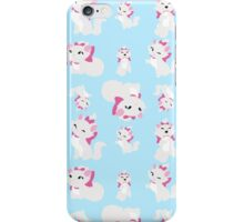 Marie, No Outline Pattern - The Aristocats iPhone Case/Skin