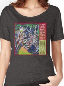 Uniform (Zebra) Women's Relaxed Fit T-Shirt