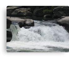 valley falls Canvas Print