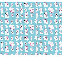Marie, No Outline Pattern - The Aristocats Photographic Print