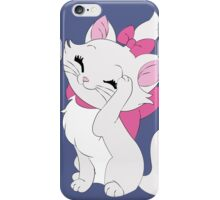 Marie Cleaning - The Aristocats iPhone Case/Skin